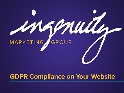 GDPR compliance on your website video header