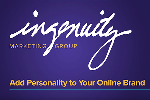 Video cover slide for Add Personality to Your Online Brand