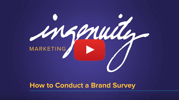 Video clover slide for How to Conduct a Brand Survey