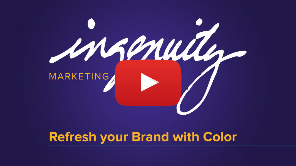 Refresh your Brand with Color title graphic