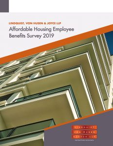 Cover of 2019 Affordable Housing Employee Benefits Survey