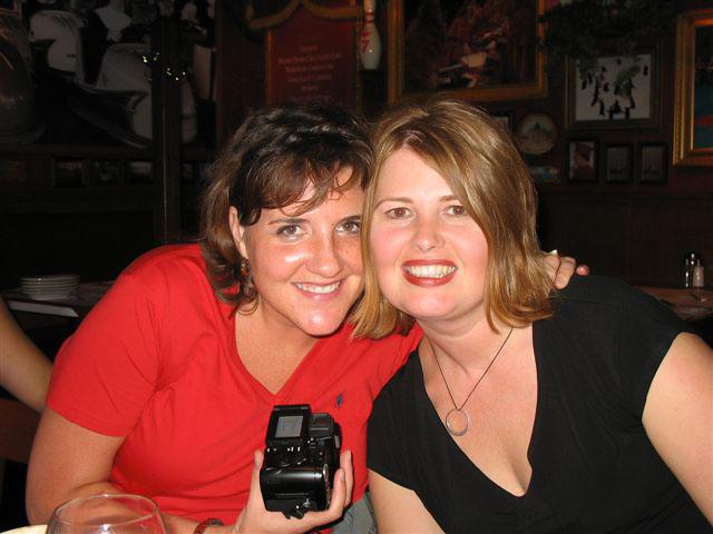 Dawn Wagenaar with friend Bonnie
