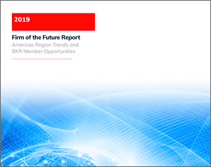 Cover of the 2019 BKR Form of the Future report