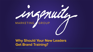 Why Should Your New Leaders Get Brand Training?