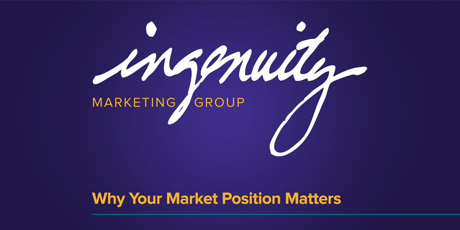 """Video title header for """"Why Market Position Matters"""""""
